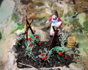 Image of Nativity scenes Mountain Life inspired by  a village in The Pyrenees