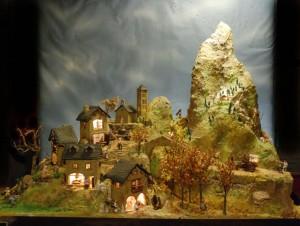 Imatge pessebre Oficis a muntanya. Inspirat en el Pirineu