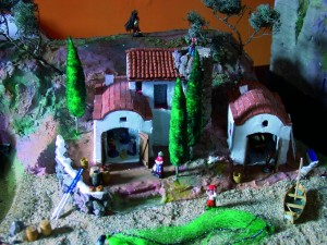 Image of Nativity scenes The Sea, inspired by a cove on the Costa Brava