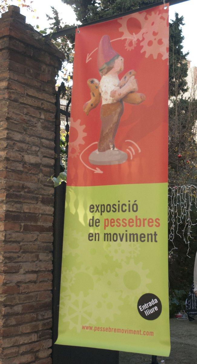 Cartel Imagen de la jornada de puertas abiertas de Pessebres en moviment (Navidad 2010)