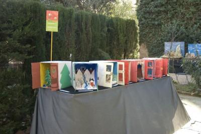 Imatge exposició taller infantil. Nadal 2011