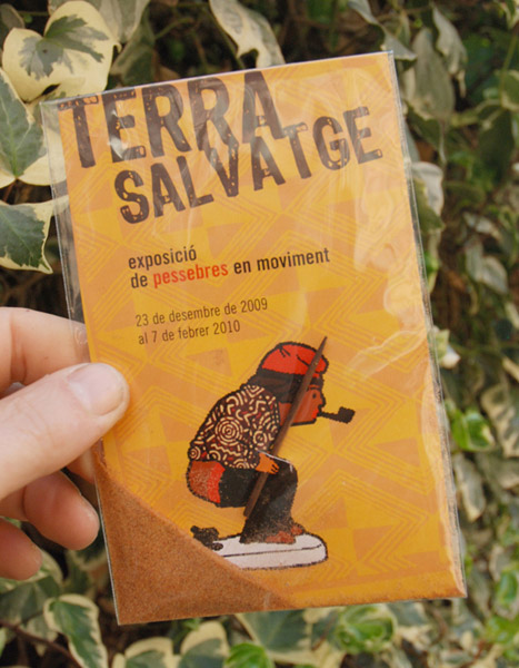 Pessebres en moviment. Exposicio terra salvatge