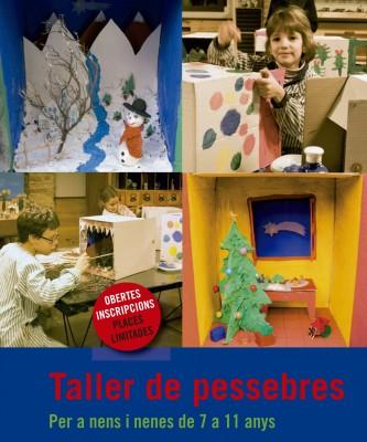 Taller de pessebres per a nens i nenes de 7 a 11 anys. Nadal 2011