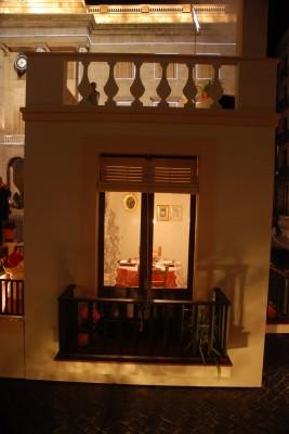 Imagen del belén de la plaça Sant Jaume de Barcelona. Navidad 2013