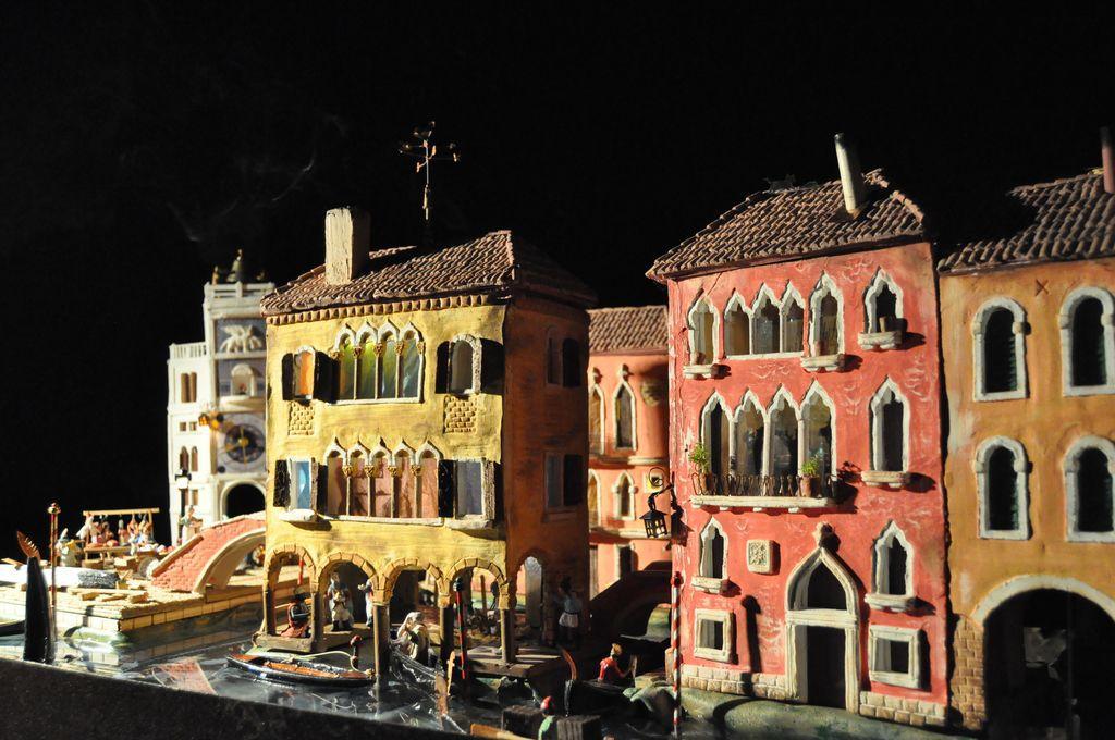 Imagen del belén Venecia