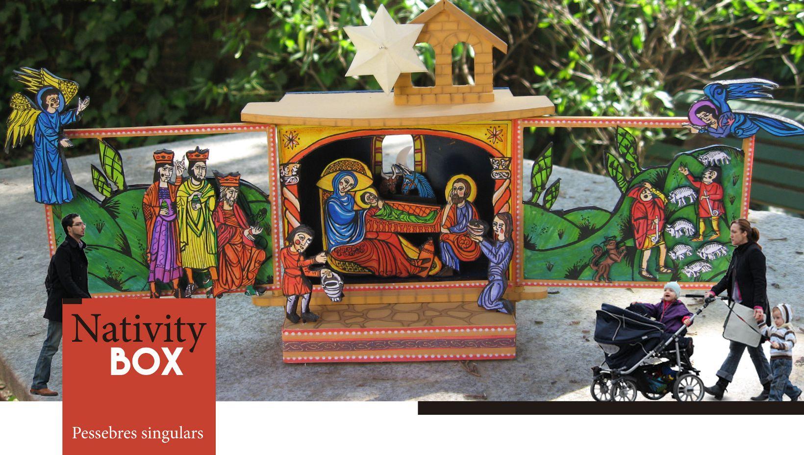 Lloguer de pessebres Nativity Box