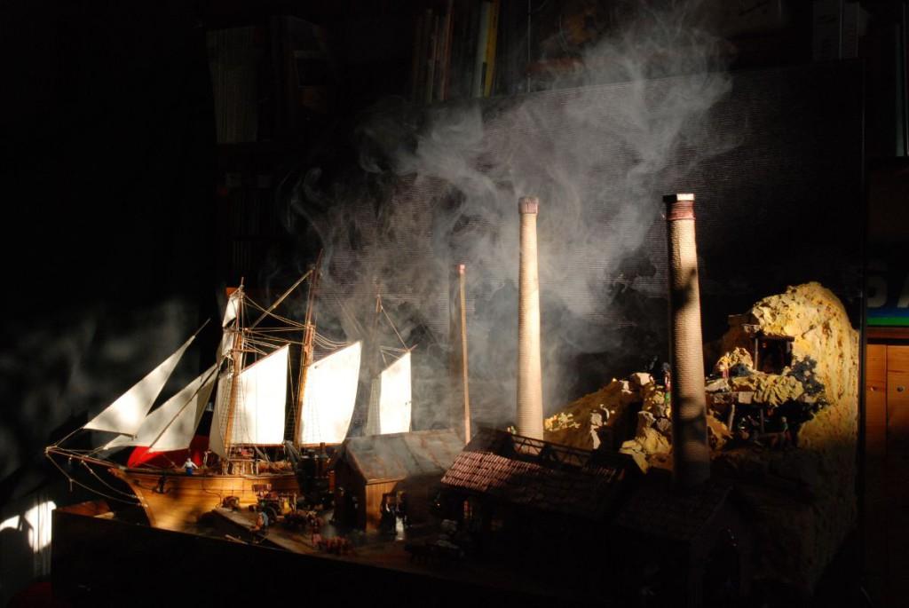 Nativity Scene image of Industrial Revolution