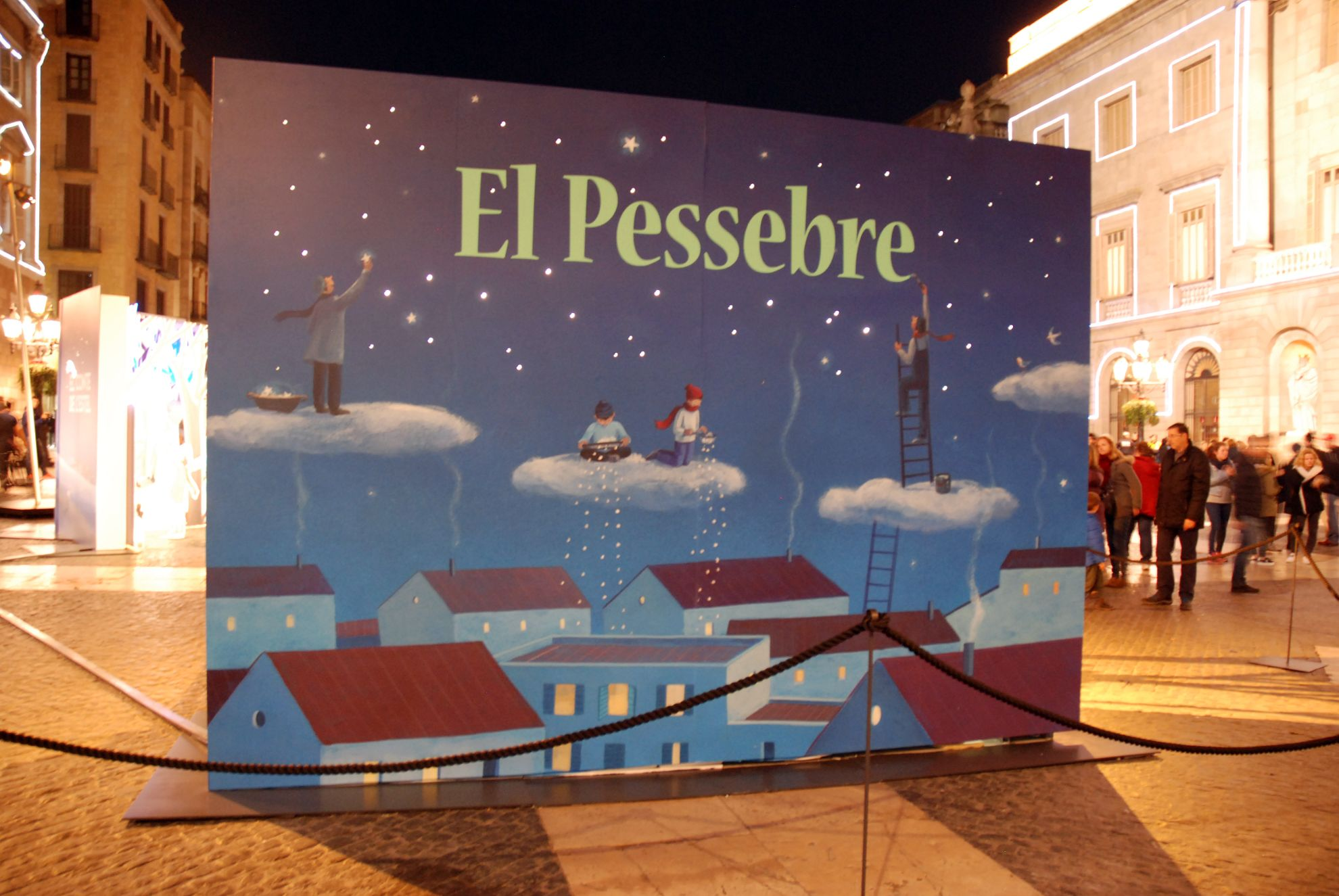 Belén Plaza Sant Jaume Navidad 2015