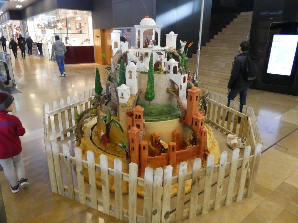 Exposición pessebremoviment Illa Diagonal 2017